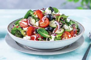 Greek Fetta & Olive Salad image