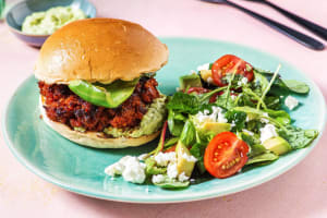 Green Chili Chorizo Burger image