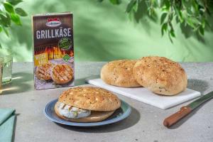 Grilled-Cheese-Paket mit Grillkäse & Fladenbrot image