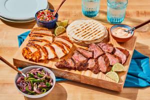 Grilled Chicken & Steak Fajitas image