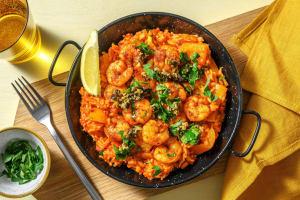 "Grilled Shrimp ""Paella"" image"