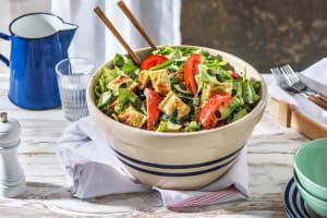 Grüner Salat mit Mini-Maultaschen image