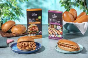 Günstiger im Multi-Paket: Pulled Pork Burger & Hot Dogs image