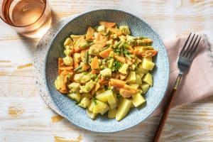 Hähnchengeschnetzeltes in Currysoße image