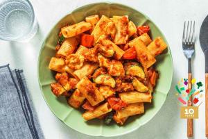 Halloumi and Roasted Vegetable Rigatoni image