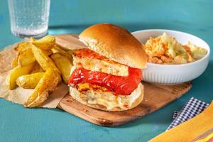 Sweet Chilli Halloumi Burgers image