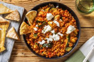 Harira-Style Lentil Veggie Stew image