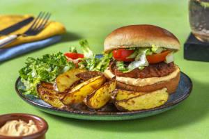 Harissa Burger image