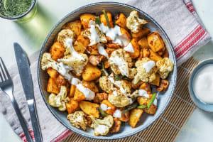 Harissa Chicken and Roasted Cauliflower image