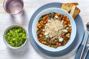 Harissa Spiced Butter Bean and Cavolo Nero Stew image
