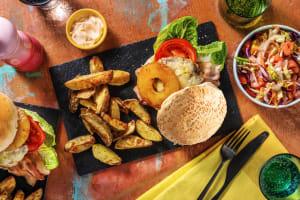 Hawaiian Double Bacon Burger image