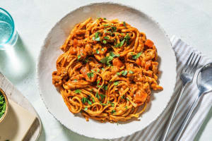 Hearty Chicken Linguine image
