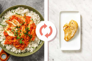 Hearty Tomato Braised Chicken Breast image