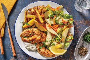 Herbed Chicken & Lemon Pepper Fries image