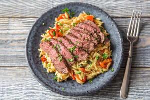 Herbed Sirloin Steak image