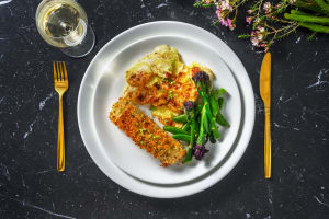 Herby Crusted Salmon image