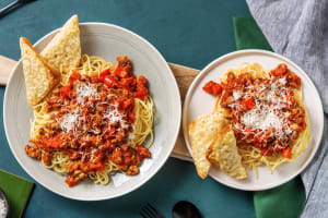 Herby Sausage Bolognese image