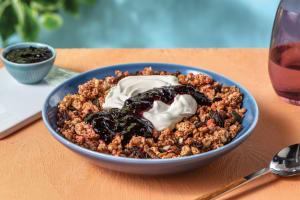 Raspberry & Blackcurrant Granola image