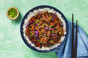 Hoisin Beef & Cabbage image