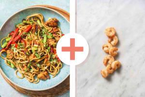 Hoisin Chicken & Prawn Stir-Fry image