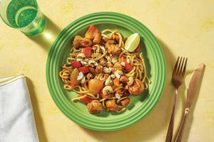 Hoisin Chicken & Veggie Noodle Stir-Fry with Cashew Nuts image
