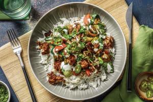 Hoisin Pork & Mushroom Rice Bowl image