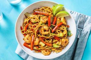Hoisin Prawn and Noodle Stir Fry image