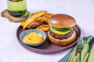 Hoisin Veggie Burgers image