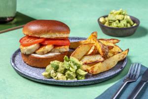 Honey Lime Glazed Halloumi Burger image