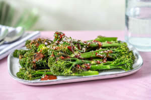 Honey Miso Roasted Tenderstem Broccoli image