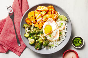 Honey Miso Sweet Potato Donburi image