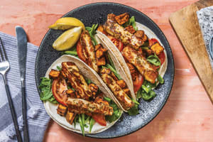 Honey & Oregano Glazed Haloumi Tacos image