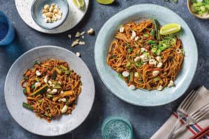 Honey-Soy Beef & Ramen Noodles image