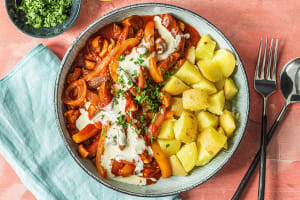 Hongaarse goulash met biefstukreepjes image