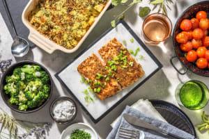 Honig-Senf-Lachsfilet aus dem Ofen image