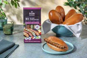 Hot Dog Basics mit Bratwurst-Variation & Buns image