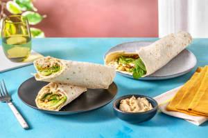 Hummus-Avocado-Wrap mit Cashews image