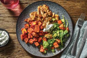 Indian Spiced Chicken & Tandoori Pumpkin image