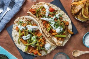 Indian Spiced Lamb Naan image