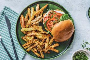 Indian Tandoori Haloumi Burger image