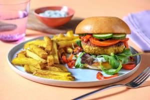 Indian Turkey Burgers image