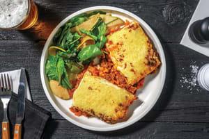 Italian Beef & Bacon Lasagne image