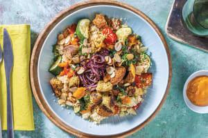 Italian Falafel & Couscous Bowl image