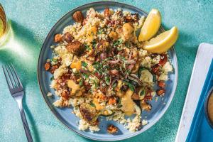 Golden Falafel Bites & Veggie Couscous image