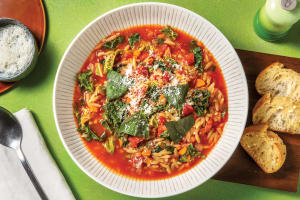 Italian Kale & Risoni Soup image