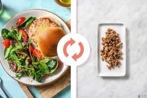 Italian Turkey Burgers image
