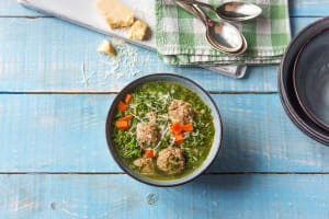 One-Pot Italian Wedding Soup image
