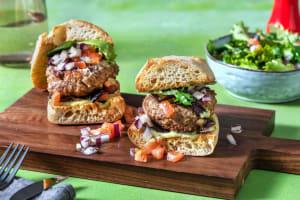 Italiensk-inspirert sandwich image