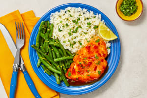 Jammy Red Pepper Chicken image