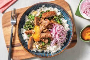 Japanese Beef & Garlic Rice Bowl image
